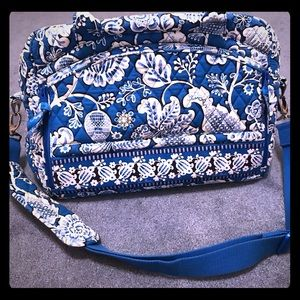 Vera Bradley Metropolitan Bag in Blue Lagoon